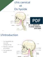 2-Rachis cervical et os hyoide