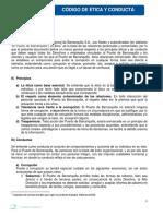 CODIGO DE ETICA Y CONDUCTA PUERTO DE BARRANQUILLA