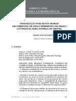 Artigos Jur_dicos_CDC_Indeniza__o por danos morais decorrentes de descumprimento de prazo contratual para entrega de im_vel_Dez de 2015