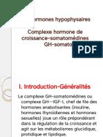 3-Complexe hormone de croissance-somatomédines