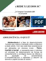 Adolescencia e Lei dos 3 c.ppt
