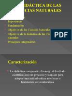 1.1.1 Didáctica de las CCNN