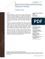 Dispersion Trading and Volatility Gamma Risk