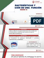 DIAPOSITIVAS CARACTERISTICA DE UNA FUNCION