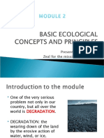Module2 Basic Ecological Concepts and Principles