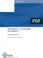 EUA Autonomy Report Final