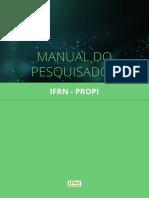 Manual do pesquisador - PROPI - IFRN