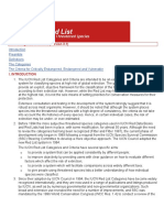 IUCN 2001 Red list Categories