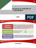 4. OF. ppt oficial-Documentación de Auditoría