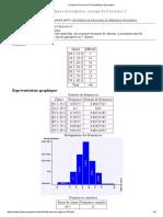 Corrigé de l'exercice 3 de statistique descriptive