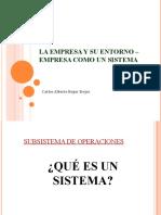 Características Procesos Productivos y Distribución