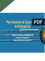 PLAN NACIONAL DE OP.EMERGENCIA