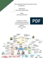 mapa mental y conceptual teorias contempoaneas