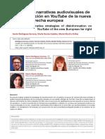 Estrategias narrativas audiovisuales de desinformacion en Youtube de la nueva extrema derecha europea.pdf
