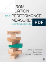 MCDAVID, HUSE & HAWTHORN - Program Evaluation and Performance Measurement an Introduction to Practice