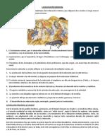 5 Características generales de la educación medieval