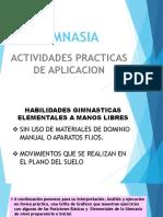 HABILIDADES MOTRICES GIMNASTICAS ELEMENTALES