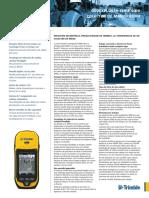 Ficha Tecnica GPS TRIMBLE EXPLORER GEO XH 6000