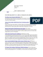 AFRICOM Related News Clips January 27, 2011