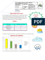 Tabulación  de datos -MATEMATICAS