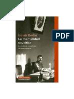 Berlin Isaiah - La Mentalidad Sovietica