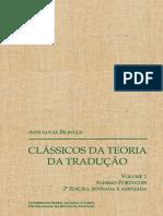 ANTOLOGIA BILÍNGUE Clássicos da Teoria da Tradução