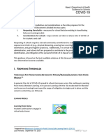 COVID 19 Guidance for Schools UPDATE With Appendix 091620