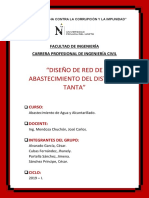 RED DE DISTRIBUCIÓN DE AGUA EN TANTA