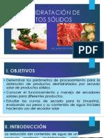 P1-DESHIDRATACIÓN DE PRODUCTOS SÓLIDOS