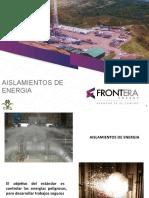 PRESENTACION AISLAMIENTOS ENERGIA