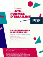 Plate-formes demailing