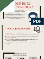 Presentacion Retenedores DIBUJO TECNICO
