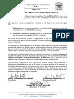 Comunicado ADEC impuesto solidario Covid - 19