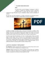 Valores Judeocristianos