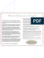 info brochure with border - paragraph - publishing layout