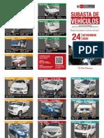 Pronabi subastará 16 vehículos y 22 inmuebles
