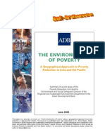 The Environments of the Poor - paper