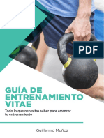 FITNESS VITAE GUÍA ENTRENAMIENTO
