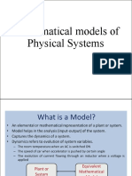 Mathematical models of Physical Systems