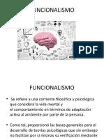 FUNCIONALISMO Y APROXIMACIONES A LA PSICOLOGÍA