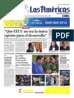 DIARIO LAS AMÉRICAS Edición semanal del 18 al 24 de septiembre de 2020