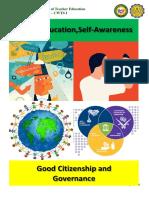 Values Education, Self-awareness and Good Governance pdf.