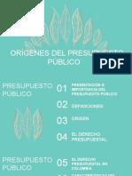 CONCEPTO Y DEFINICIÓN DE PRESUPUESTO