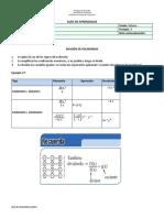 Guia 1_Matematicas_Octavo_3P_ polinomios_cociente