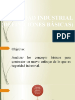 seguridad industrial definiciones basicas