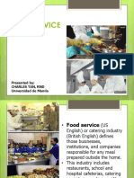 The FOODSERVICE SYSTEM