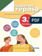 MI CUADERNO DE REPASO FORMACION CIVICA Y ETICA 3 SECUNDARIA NORMA