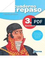 MI CUADERNO DE REPASO HISTORIA DE MEXICO 3 SECUNDARIA NORMA