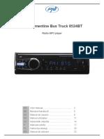 radio PNI-8524BT