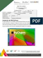 INSTALACION IDE PyCharm